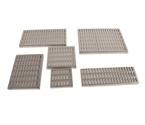 Simetrik Oval Delikli -Paslanmaz Çelik Drenaj Kanalı Izgaraları